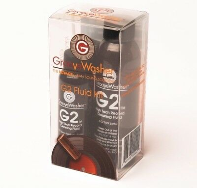 GrooveWasher G2 Record Cleaning Fluid Kit - Direct from GrooveWasher!