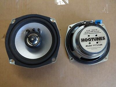 Hogtunes -117-2.AA 5.25in. Replacement Rear Speakers (ohm2)