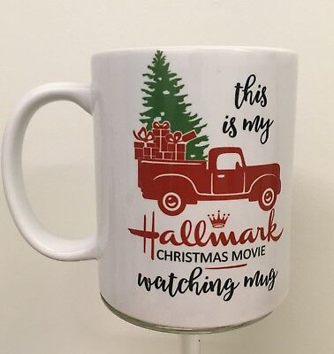 Hallmark Christmas Movies Watching Coffee Mug /tea