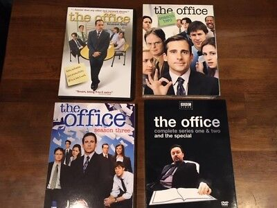 The Office (US) Season 1, 2, 3 (US) + The Office (BBC) Season 1, 2 and Special