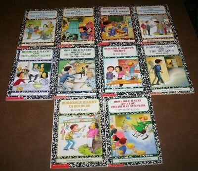 Lot of 10 Horrible Harry books by Suzy Kline