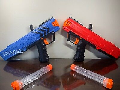 NERF Rival Apollo Xv-700 Blasters red and blue
