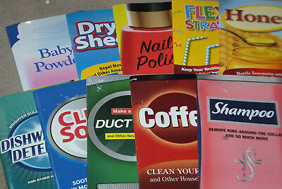 Household Product Hints & Secrets Books/booklets Lot of 10