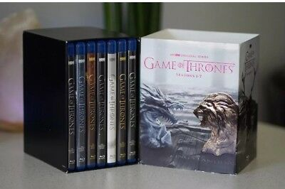 HBO Game of Thrones: The Complete Seasons 1-7 (Blu-ray Discs, no Digital)