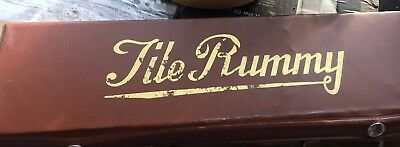 1982 Tournament RUMMIKUB Rummy Tile Game in Carrying Case - Complete - Pressman