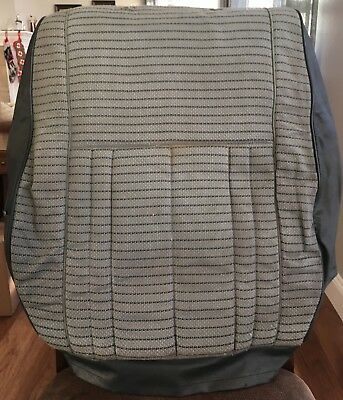 FJ60 Gray Seat Cover Back