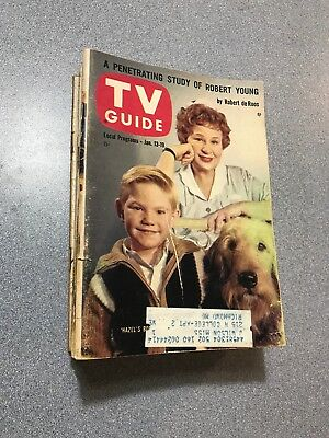 1962 TV GUIDE Sweet Lot 11 w/ The RIFLEMAN & MR. ED Nice Old Collectibles!!!