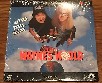 1992 Wayne's World Laser Disc Mike Myers Widescreen/extended Play Edition