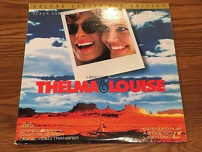 1991 Thelma & Louise Laser Disc Deluxe - Letterbox Edition - Extended Play