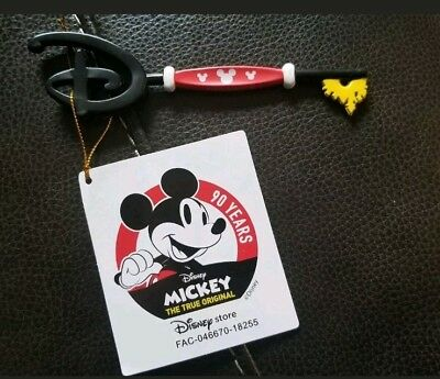 Mickey Mouse Memories 90th Anniversary Birthday Disney Store Key Brand New
