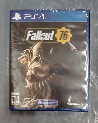 Fallout 76 (Sony PlayStation 4) - Brand New - Factory Sealed - fast shipping!