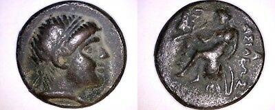 Fantasy - 246-227BC Ancient Greece Seleukid Kingdom Antiochos Heirax Tetradrachm