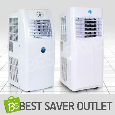 Air Conditioner Cooler Cooling Fan Dehumidifier Remote Control LED Portable