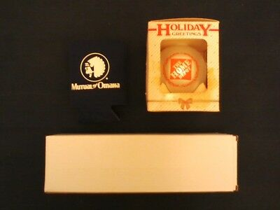 Vintage Home Depot Christmas Tree Ornament & brand new insurance carrier swag!!!