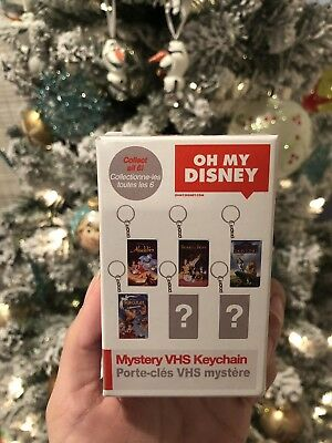 Oh My Disney Mystery VHS Keychain-The Hunchback Of Notre Dame