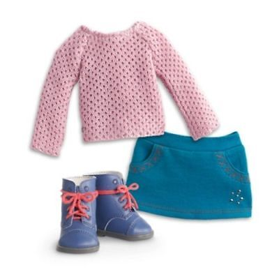 American Girl Truly Me Sparkle Sweater Outfit for 18-inch Dolls NEW in AG Box