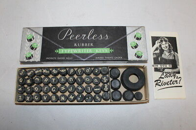 Typewriter Rubber Keys - New Old Stock
