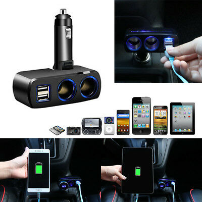 Chargeur voiture allume cigare dual USB double universel car charger 2 way