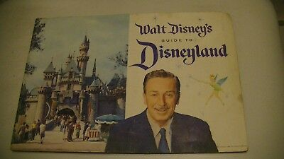 Disneyland 1959 Walt Disney's Guide To Disneyland, Vintage Collectable.