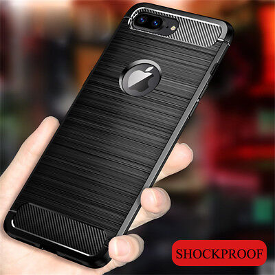 For iPhone Xs Max XR 7 8 6 Plus Case Non-slip Brushed Soft Silicone Slim Cover