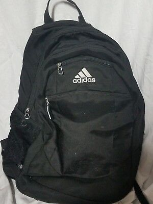 9244afe5e169 Adidas Load Spring Sling School Bag Backpack Black Gym Overnight Black   USED
