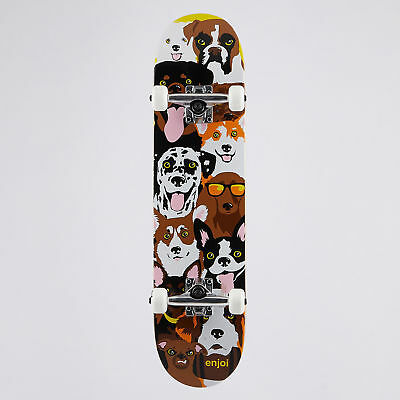 City Beach Enjoi Dog Collage 7.375 Complete Skateboard