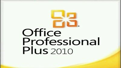 Office Professional Plus 2010 32/64bit Genuine Key Product Code