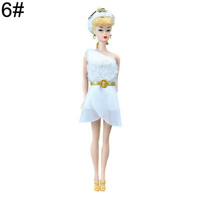 (one size, 6#) - Fashion Doll Clothes Wear Handmade Tops Dress Pants Suit for