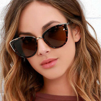 New Women Luxury Vintage Cat Eye Gradient Sunglasses Retro UV400 Glasses Ladies