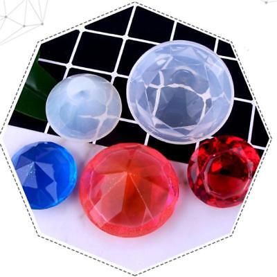 3D Diamond Shape Crystal Silicone Mold DIY Mold Making Moulds Decorating Tools T