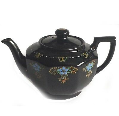 Teapot porcelain decorated Made in JAPAN size 2 cups (16 fl oz , 480 ml) NEW