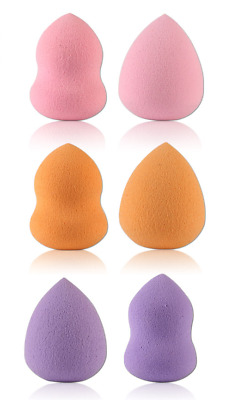 6 Makeup Foundation Sponge Blender Blending Puff Flawless Beauty Powder Smooth