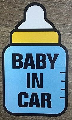 Set of x2 Baby On Board Safety Vinyl Sticker Decal Sign For All Cars/Tru