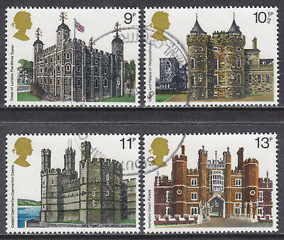 1978 GB British Architecture SG 1054-1057 Set Of 4 Used Commemorative Stamps