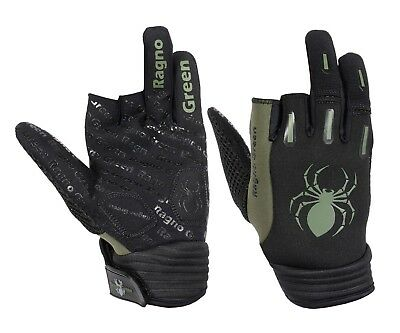 2 Pair of MOJO Pro Style Paintball Gloves Gray