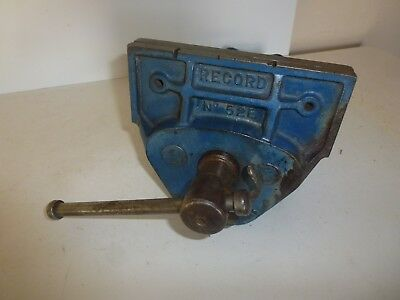 "Record No 52E Wood Working Joiners Carpenters Vice 7""Jaws Quick Release"