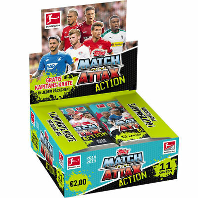 Match Attax Action Display 2018/ 2019 / Die neuen Karten