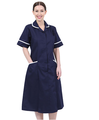 Behrens Woman Healthcare Dress Tunic Nurses Uniform Medical Dental Therapist