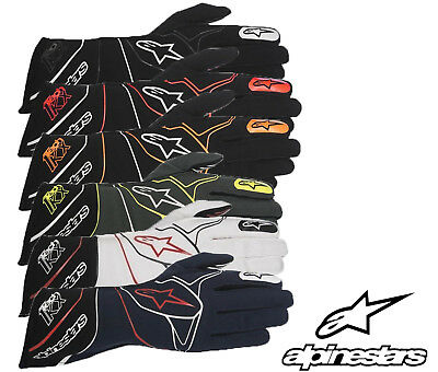 Alpinestars Tech 1-KX Karting Gloves, Ideal for Autograss/Kart Racing S - XL NEW