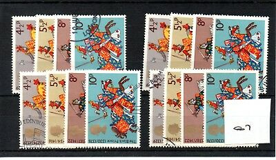 Gb  Wholesale - 1974 - Medieval Warriors - Great Britons - Four Sets - Fine Used