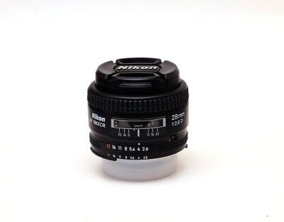 Nikon Nikkor Lens - AF Nikkor 28mm f/2.8D - Wideangle lens for Nikon DSLR camara