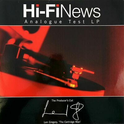 Hi Fi News Analogue Test LP - The Producers Cut