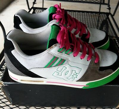 new arrival 68bdb 45de2  RARE  DC Shoes (Voltron) 9.5 (Original Box) Skateboard Skater Multi