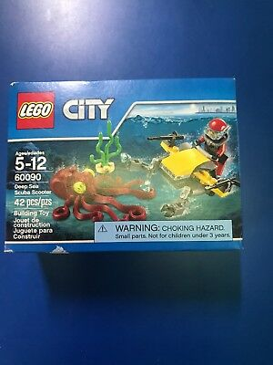 LEGO City 60090 Deep Sea Scuba Scooter New in Sealed Box