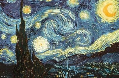 New Starry Night Wall Poster - RP6257 - 22.375'' x 34''