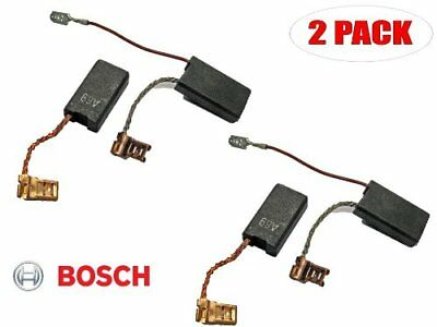 Bosch 2 Pack Of Genuine OEM Replacement Carbon Brushes # 1617014144-2PK