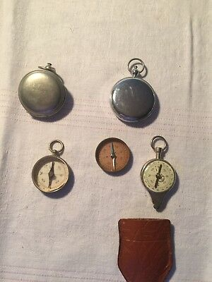 WW1 Compass  Eng Dept And 4 Others World War 1? USA 1918