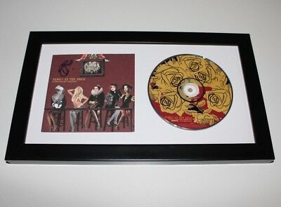 Panic! At The Disco Brendon Urie Signed Framed A Fever You Cant Sweat Out Cd Coa