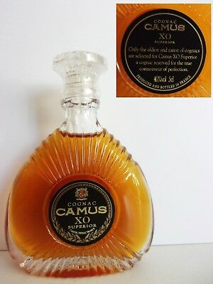 Mini Bottle Cognac Camus Xo Superior 5 Cl Miniature