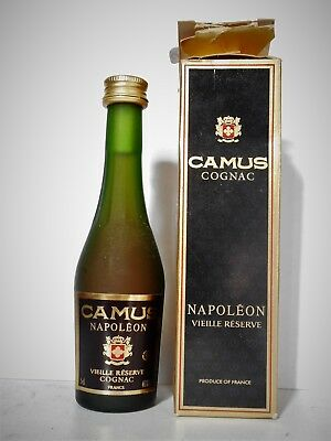 Mini Bottle Cognac Camus Napoleon 5 Cl Miniature